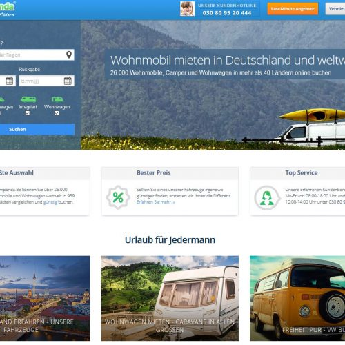 10 MILLION EUR IN SERIES-B: MICHELIN IS INVESTING IN CAMPER MARKETPLACE CAMPANDA